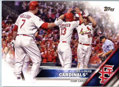 Photo of 2016 Topps #448 St. Louis Cardinals