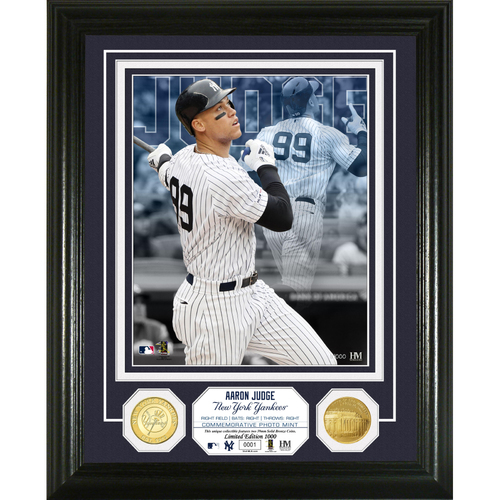 Photo of Aaron Judge Bronze Coin Photo Mint