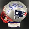 HOF - Patriots Andre Tippett Signed Proline Helmet