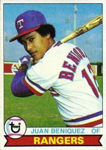 Photo of 1979 Topps #478 Juan Beniquez