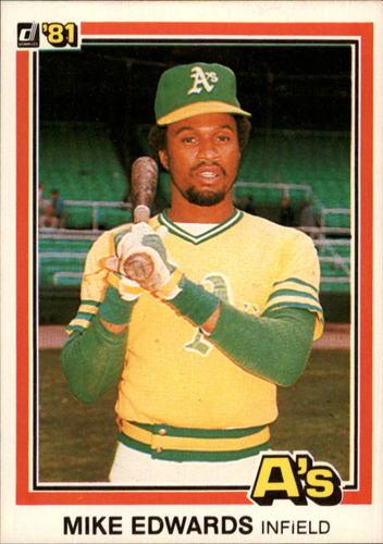 Photo of 1981 Donruss #497 Mike Edwards
