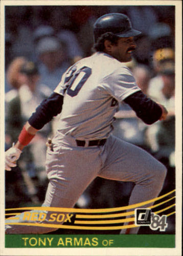 Photo of 1984 Donruss #294 Tony Armas