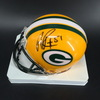 PCF - Packers Nate Palmer Signed Mini Helmets