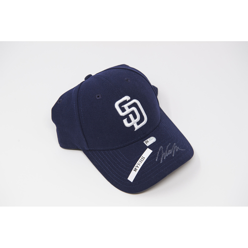 Photo of Wil Myers Autographed Hat
