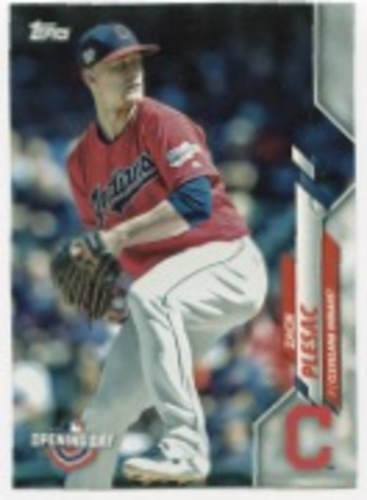 Photo of 2020 Topps Opening Day #92 Zach Plesac