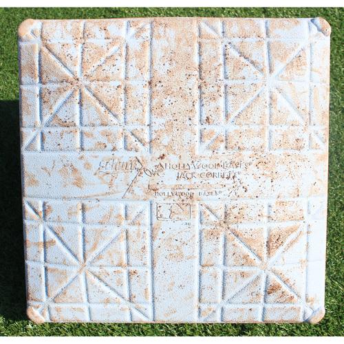 Photo of Game-Used Base: 2nd Base (STL @ KC 9/22/20)