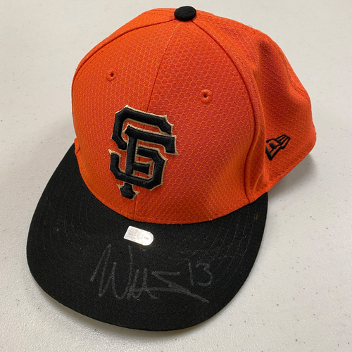 Photo of 2020 Cyber Monday Sale - #13 Will Smith Autographed Orange Batting Practice Cap