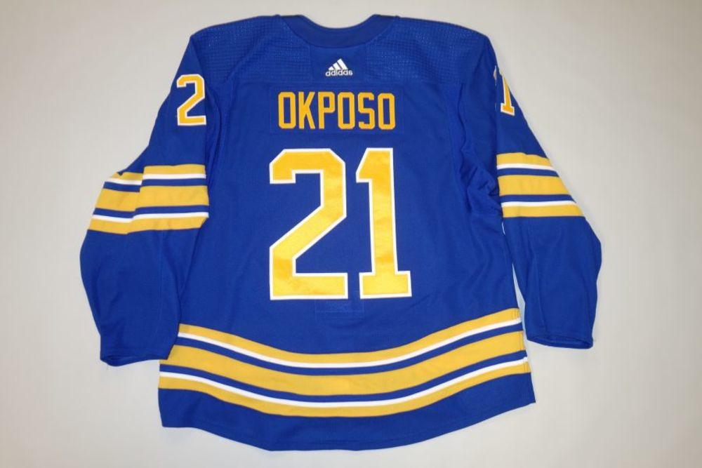 Kyle Okposo 2020-21 Buffalo Sabres Set 2 Home Jersey
