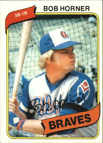 Photo of 1980 Topps #108 Bob Horner