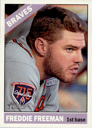 Photo of 2015 Topps Heritage #200A Freddie Freeman