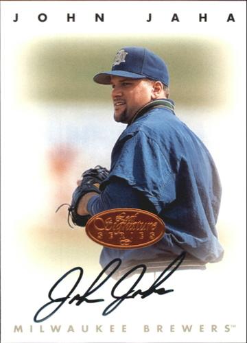 Photo of 1996 Leaf Signature Autographs #116 John Jaha