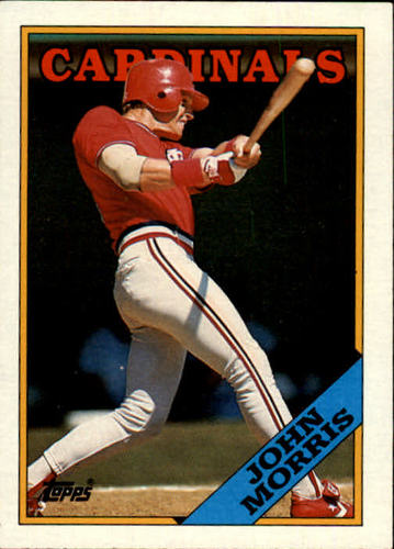 Photo of 1988 Topps #536 John Morris