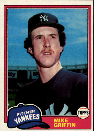 Photo of 1981 Topps #483 Mike Griffin RC