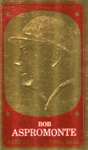 Photo of 1965 Topps Embossed #61 Bob Aspromonte