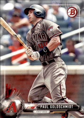 Photo of 2017 Bowman #88 Paul Goldschmidt -- D'backs post-season