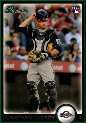 Photo of 2010 Bowman Draft #BDP22 Jonathan Lucroy Rookie Card