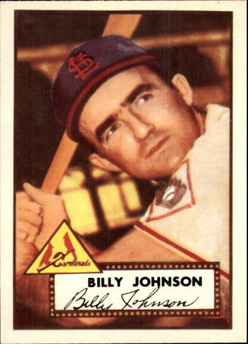 Photo of 1983 Topps 1952 Reprint #83 Billy Johnson