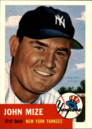 Photo of 1991 Topps Archives 1953 #77 Johnny Mize