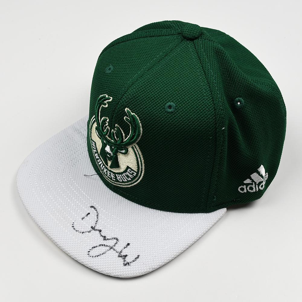 DJ Wilson - Milwaukee Bucks - 2017 NBA Draft - Autographed Hat