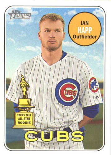 Photo of 2018 Topps Heritage #63 Ian Happ