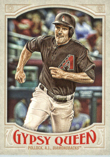 Photo of 2016 Topps Gypsy Queen #3A A.J. Pollock/Running