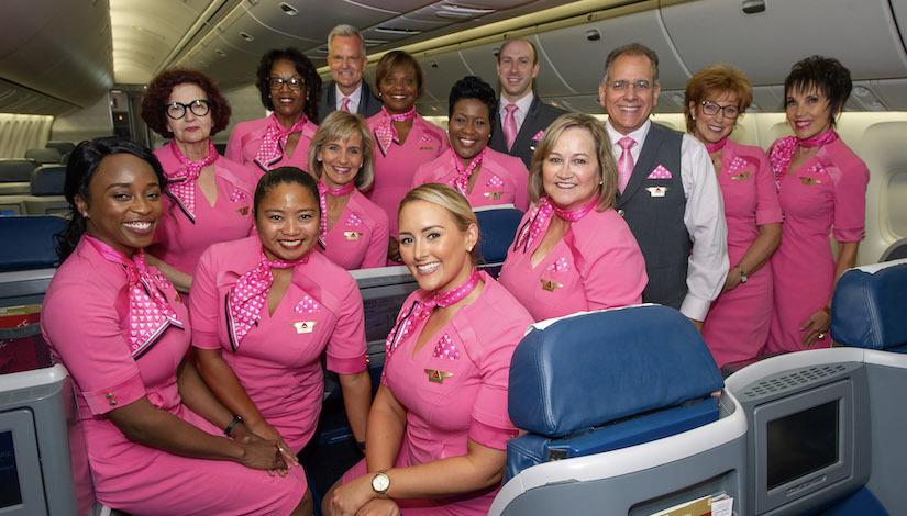 DELTA'S ANNUAL BREAST CANCER ONE SURVIVOR FLIGHT