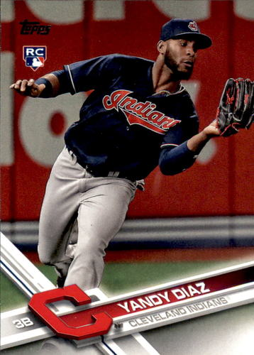 Photo of 2017 Topps Update #US151 Yandy Diaz RC