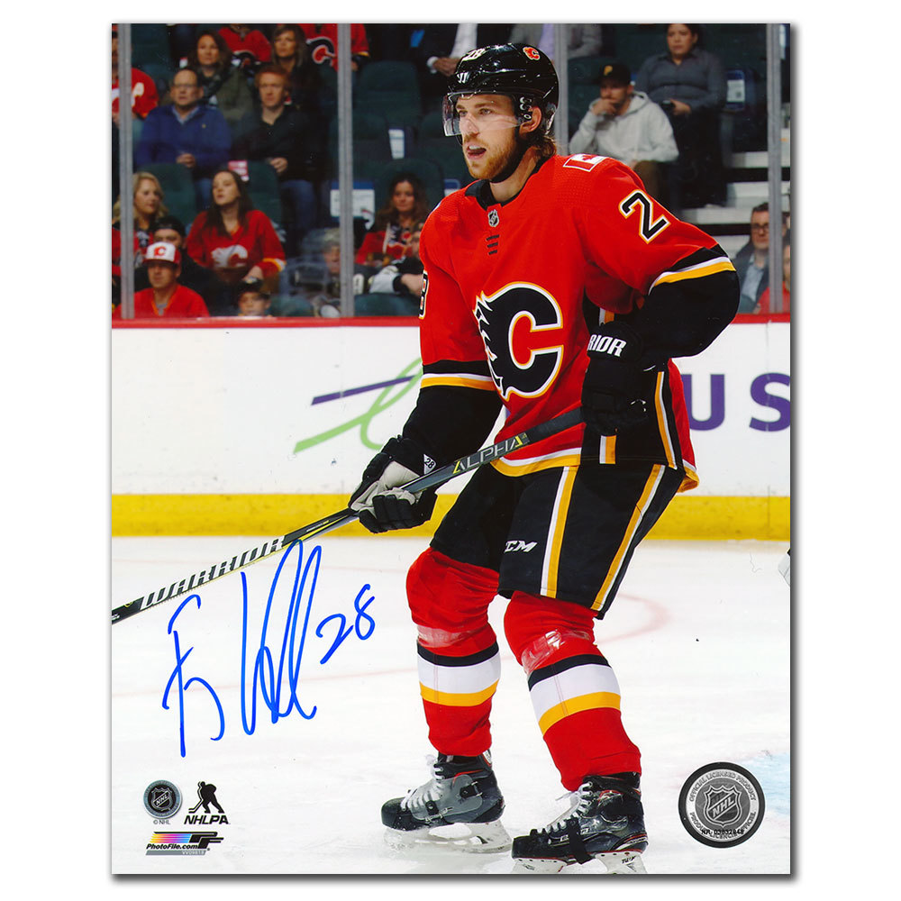 Elias Lindholm Calgary Flames Autographed 8x10 Photo