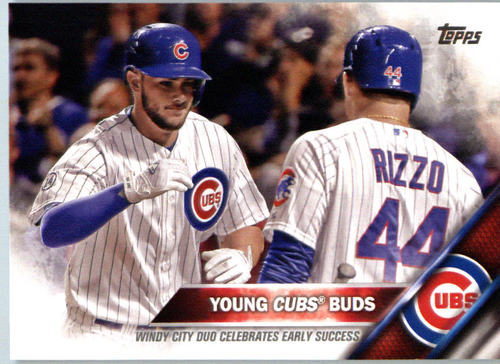 Photo of 2016 Topps #453 Anthony Rizzo/Kris Bryant/Young Cubs Buds