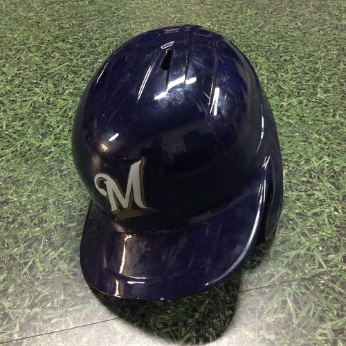 Photo of Yasmani Grandal 2019 Game-Used Batting Helmet (05/22: 1-3, 2 BB, 2-Run HR; 06/05: 2-4, 2-Run HR)
