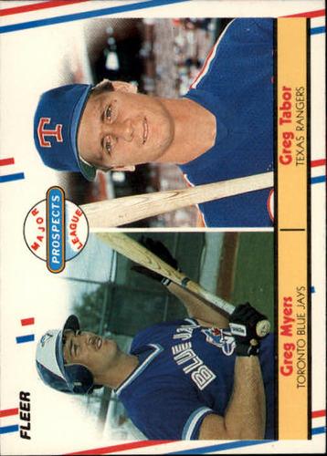 Photo of 1988 Fleer #644 Greg Myers/Greg Tabor RC