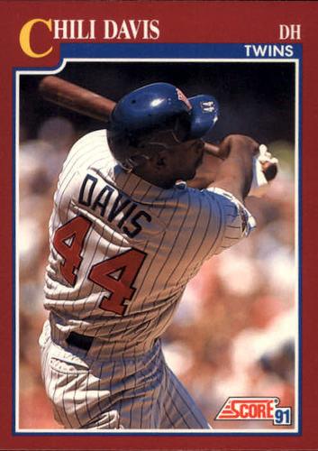 Photo of 1991 Score Rookie/Traded #70T Chili Davis