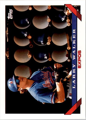 Photo of 1993 Topps #95 Larry Walker