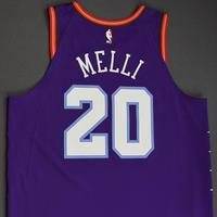 Nicolo Melli - 2020 NBA Rising Stars - Team World - Game-Worn 1st Half Jersey