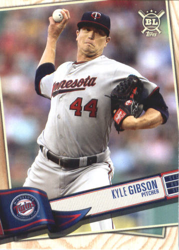 Photo of 2019 Topps Big League #38 Kyle Gibson