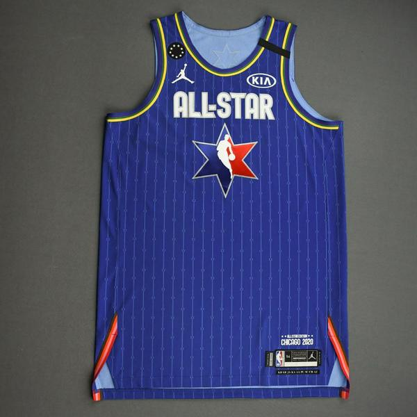 Image of AnthonyDavis - 2020 NBA All-Star - Team LeBron - Autographed Jersey