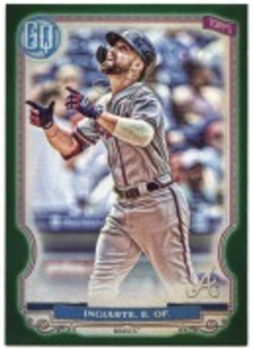 Photo of 2020 Topps Gypsy Queen Green #118 Ender Inciarte