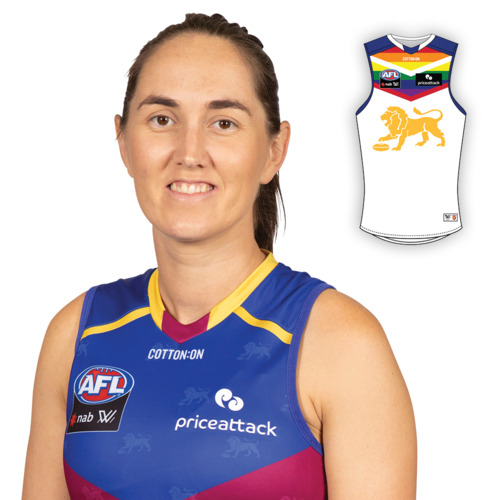 Photo of 2021 AFLW Pride Guernsey - Sharni Webb