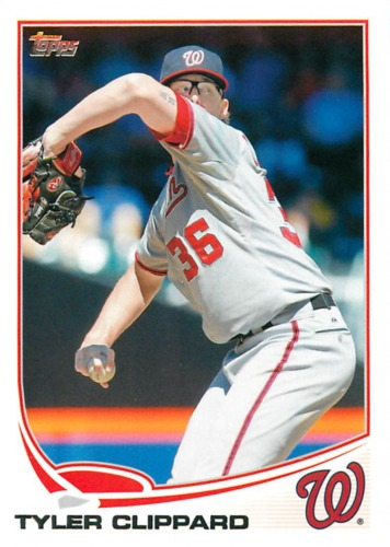 Photo of 2013 Topps #136 Tyler Clippard