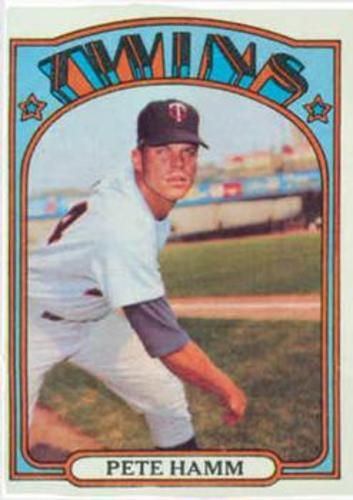 Photo of 1972 Topps #501 Pete Hamm