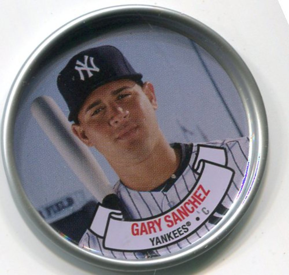 2017 Topps Archives Coins #C3 Gary Sanchez