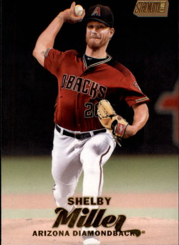Photo of 2017 Stadium Club Gold Foil #296 Shelby Miller