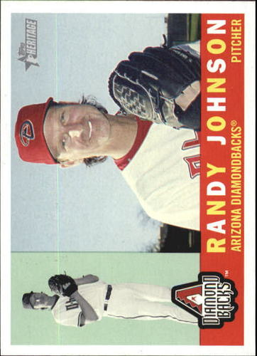 Photo of 2009 Topps Heritage #33 Randy Johnson -- Hall of Fame Class of 2015