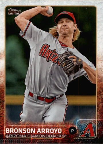 Photo of 2015 Topps #596 Bronson Arroyo