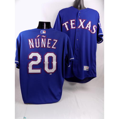 Photo of Blue Team-Issued Jersey - Renato Nunez