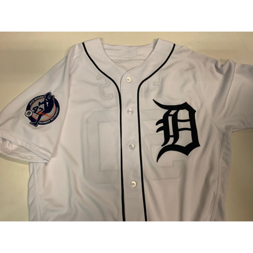 Team-Issued Jack Morris Number Retirement Day Jersey: Mike Fiers
