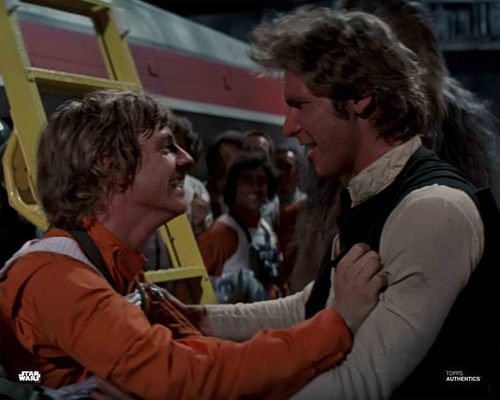 Han Solo and Luke Skywalker