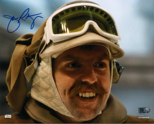 John Ratzenbeger As Major Bren Derlin 8X10 Autographed in Blue Ink Photo