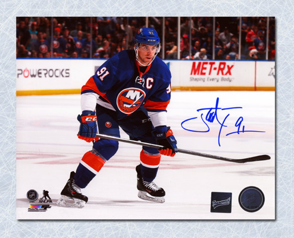 John Tavares New York Islanders Autographed Captain 8x10 Photo