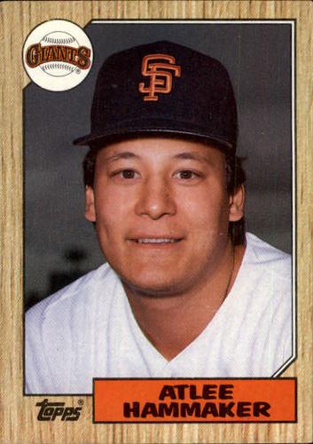 Photo of 1987 Topps #781 Atlee Hammaker